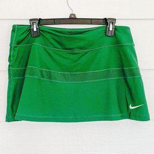 NIKE Dark Green Dri-Fit Tennis Skirt  Size L